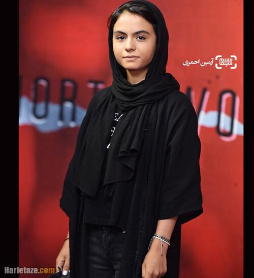 سارا حاتمی بازیگر نقش مائده در سریال زخم کاری