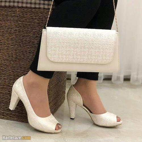 ست کیف و کفش عروس 1400