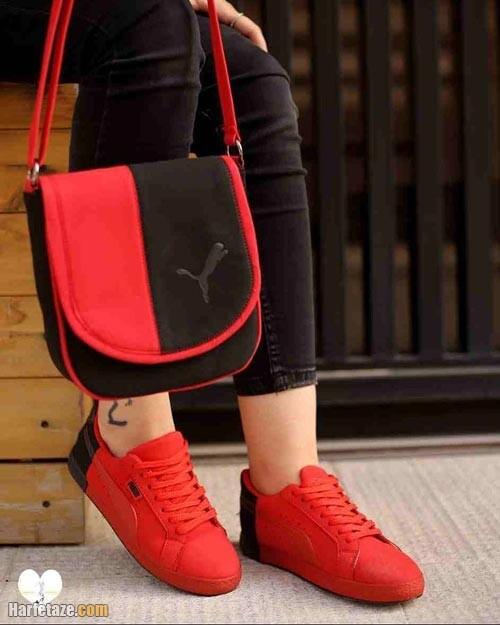 ست کیف و کفش دخترانه 1400