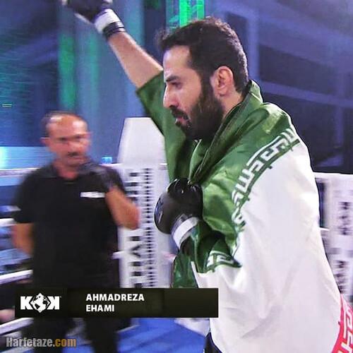 احمدرضا امامی قهرمان MMA در سال 2021