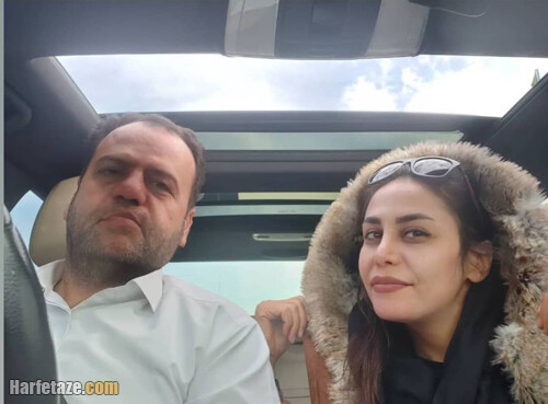 فهیمه نعمت اللهی و همسرش