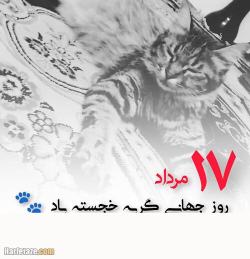 جملات زیبا و اس ام اس درباره روز جهانی گربه