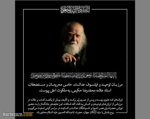 آثار و سوابق محمدرضا حکیمی
