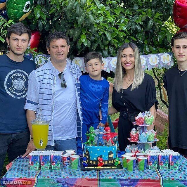 همسر و فرزندان اوگور کوباش