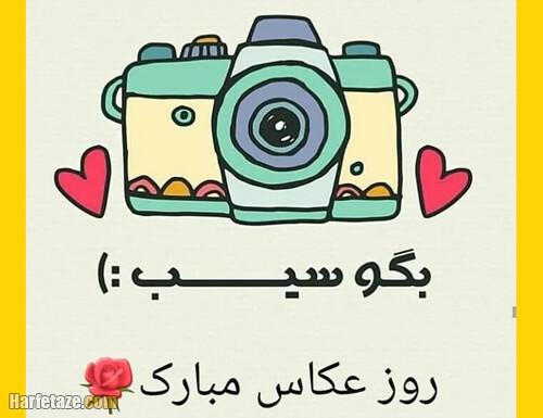 تبریک روز جهانی عکاسی