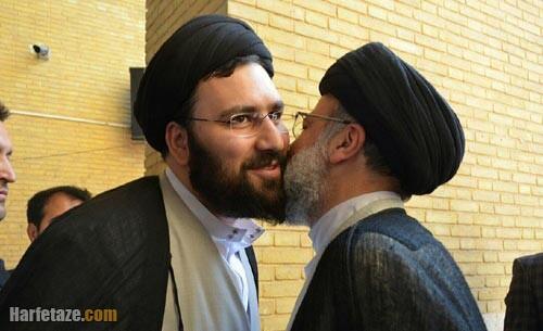 سید علی خمینی و رئیسی