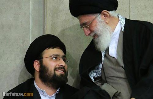 سید علی خمینی و رهبر