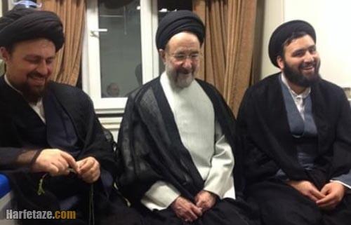 سید علی خمینی و خاتمی