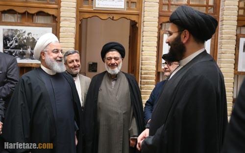 سید علی خمینی و روحانی