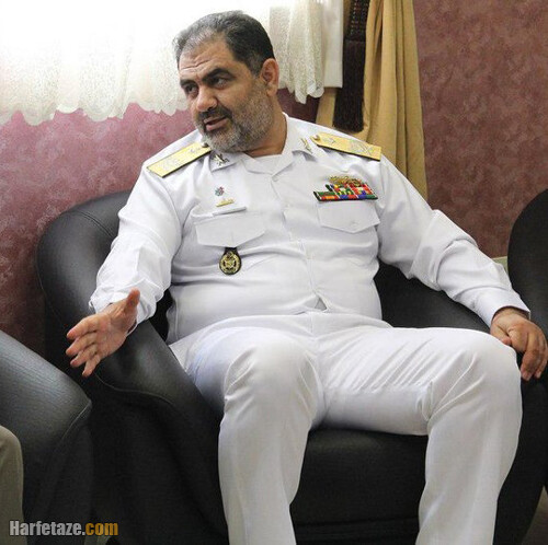 بیوگرافی امیر دریادار شهرام ایرانی فرمانده نیروی دریایی ارتش