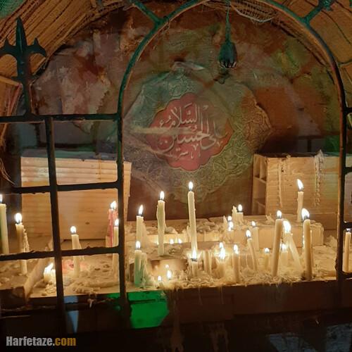 عکس شمع برای تسلیت شام غریبان حسینی