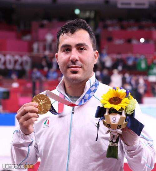 مدال طلای سجاد گنج زاده المپیک 2020 توکیو