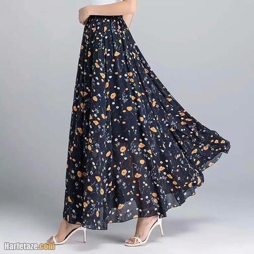 دامن بلند زنانه 1400