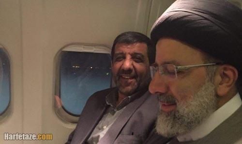 عزت الله ضرغامی و ایت الله رئیسی