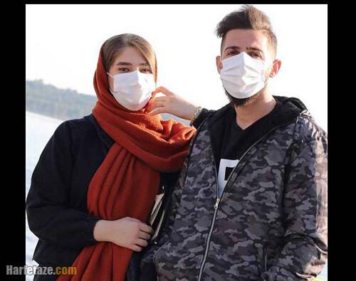 مهدی عبدی و همسرش