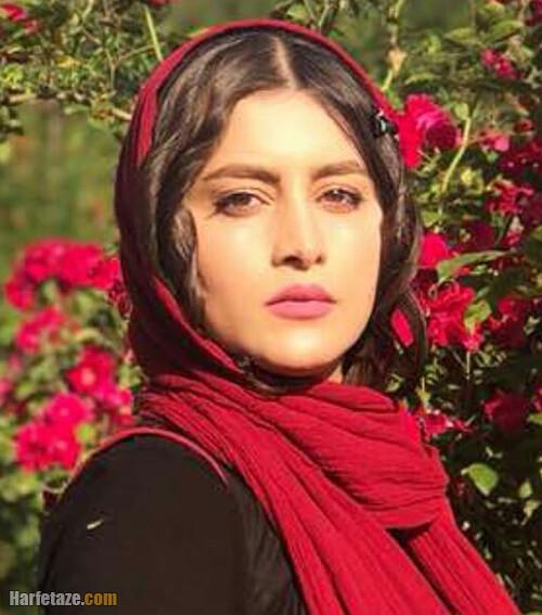 فهیمه مومنی بازیگر نقش صبا در سریال افرا کیست