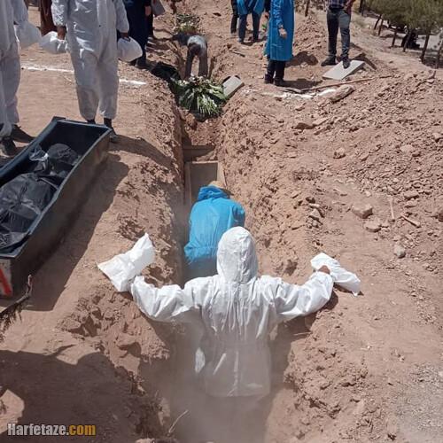 ماجرای دفن اموات کرونای در گورهای دسته جمعی در کرمان