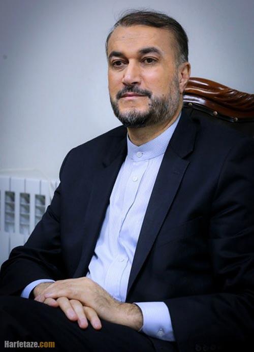 عکس جدید حسین امیرعبداللهیان