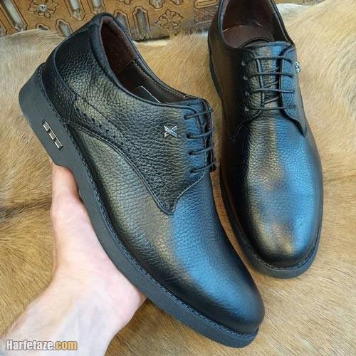 کفش چرم مردانه 1400