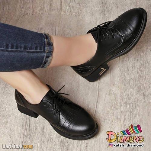 کفش چرم زنانه 1400
