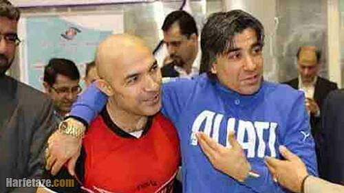 کاظم محمدی و وحید شمسایی