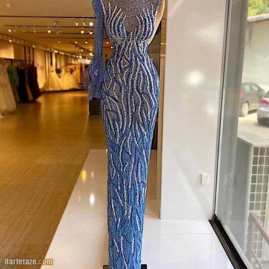 تصاویری از مدل لباس مجلسی شیک جدید 2022 | لباس مجلسی اروپایی
