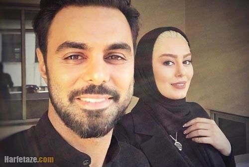 مهدی ماهانی و همسرش سحر قریشی