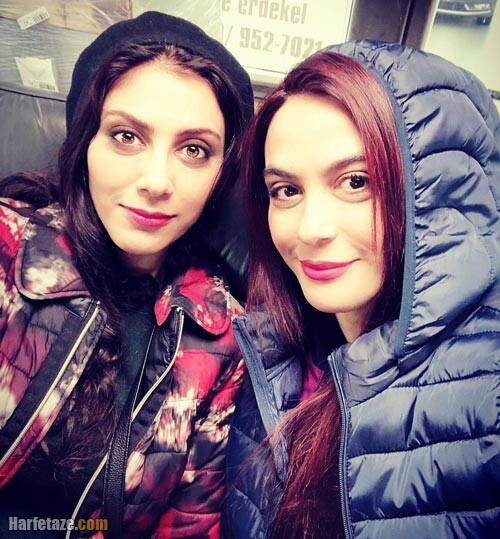 عکس جدید مونا فرجاد و خواهرش