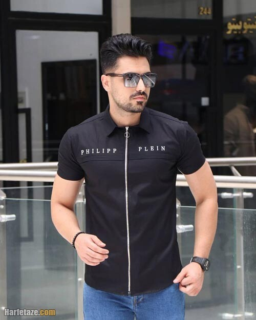 پیراهن مشکی مردانه 1400