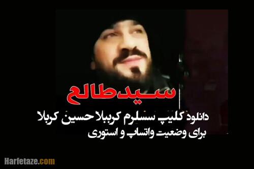 دانلود / کلیپ کوتاه سسلرم کرببلا طالع باکویی برای وضعیت واتساپ و استوری با متن