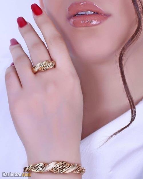 ست دستبند انگشتر 1400