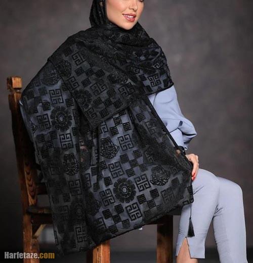 شال مشکی 1400