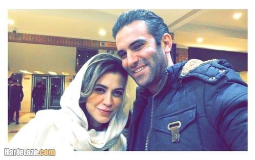 شیدا خلیق و همسرش