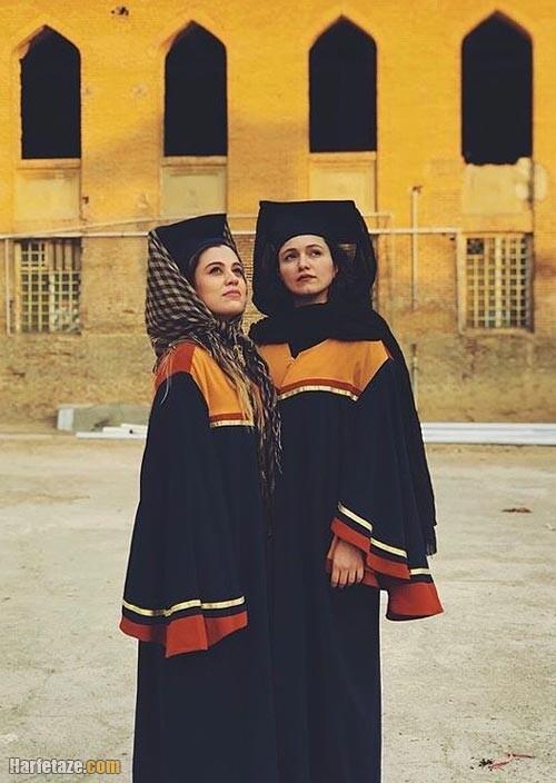 عکس جدید شیدا خلیق و دوستش