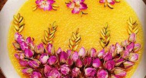عکس تزیین شله زرد محرم ۱۴۰۰ | عکس شله زرد تزیین شده
