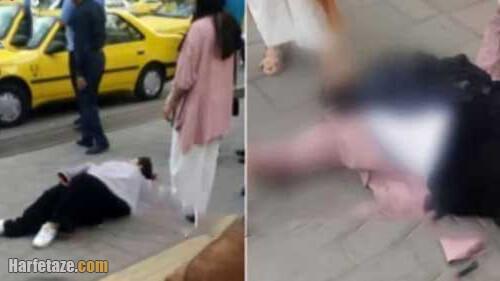 عکس / ماجرای درگیری لفظی و زیر گرفتن دو زن ارومیه ای بی حجاب توسط راننده پرشیا
