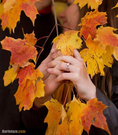 عکس بدون متن پاییز برای پروفایل عاشقانه