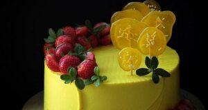 مدل تزیین کیک با میوه ۲۰۲۲ زیبا و خاص (ویژه زمستان-تابستان)