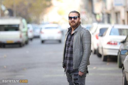 عکس جدسد هامون سیدی در سریال افرا
