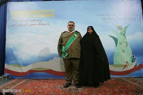 فاطمه مباشر همسر سرلشگر فیروزآبادی کیست
