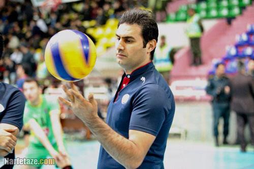 بیوگرافی حسین کاظمی سرمربی والیبال