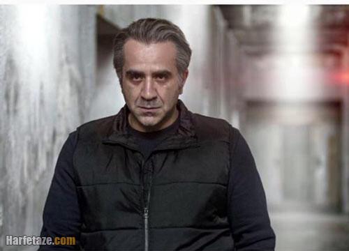 بیوگرافی مهدی حسینی نیا بازیگر نقش منصور در سریال میدان سرخ