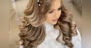 مدل شینیون باز نامزدی ۲۰۲۲ با جدیدترین متدهای آرایش مو