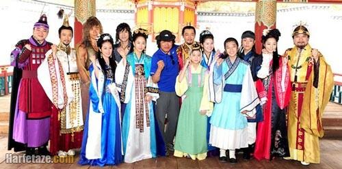 اسامی و بیوگرافی بازیگران سریال رویای فرمانروای بزرگ The King's Dream به همراه نقش