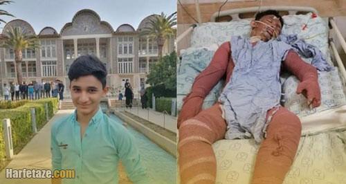 علی لندی نوجوان ایذه ای کیست؟ + ماجرای نجات جان پیرزن همسایه در آتش سوزی