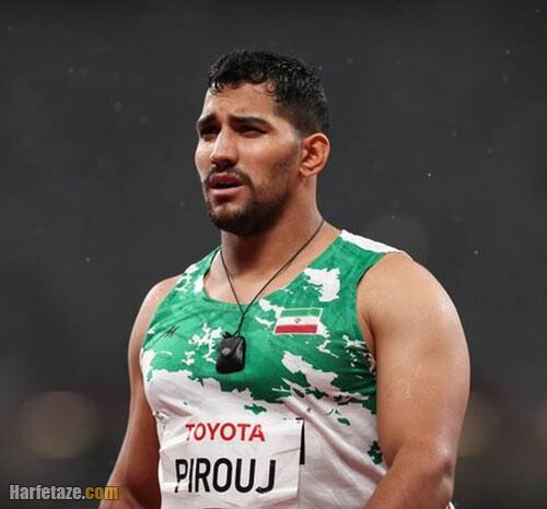 بیوگرافی علی پیروج نایب قهرمان پارالمپیکی پرتاب نیزه و همسرش + عکس ها و سوابق