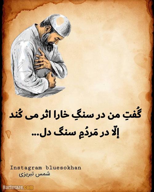عکس و بیوگرافی شمس تبریزی