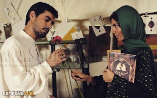 بیتا بادران و شهاب حسینی در فیلم شهاب حسینی