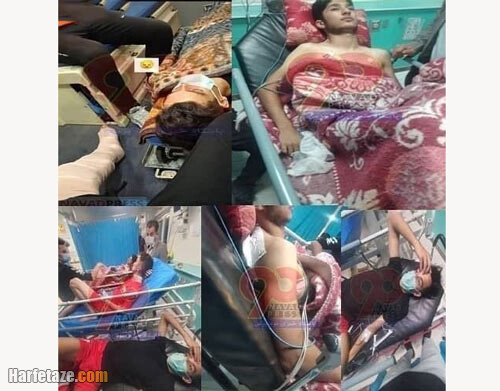 فیلم درگیری و کتک کاری خونین در فوتبال تبریز 7 مجروح و یک نابینا +عکس