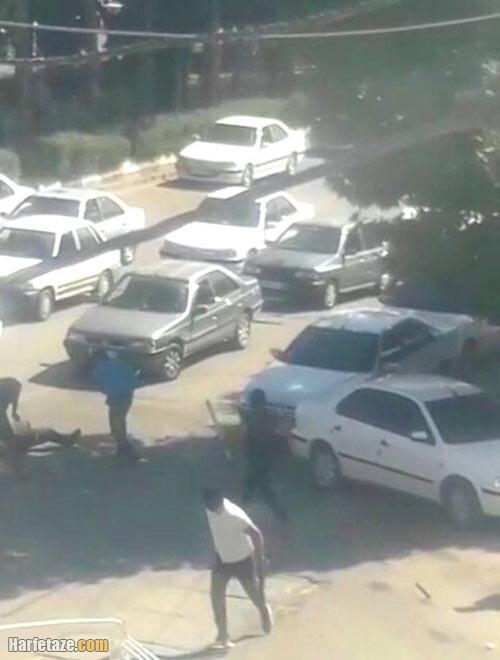 ماجرای تیراندازی و نزاع خیابانی در مرکز شهر یاسوج + فیلم
